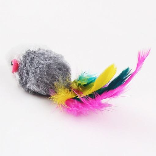 Cat Toy Soft Fleece Mouse