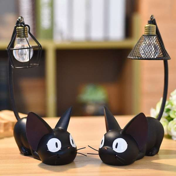 Mini Black Cat Night Light