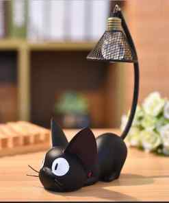 Mini Black Cat Night Light - Pattern 2