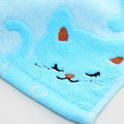 Cute Cat Design Facial Hand Towel