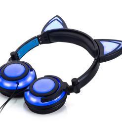 Glowing Cat Ear Headphones