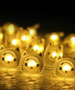 Cat Decorative String LED Holiday Lights