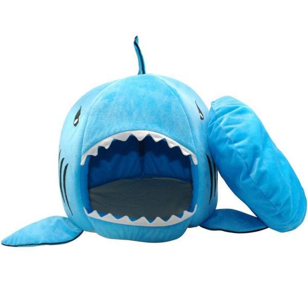 Shark Shaped Cat Bed 3 (2)
