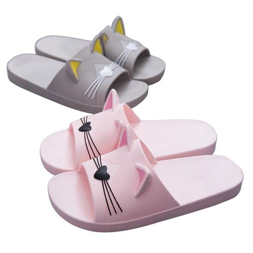 Cute Cat Ear Flipflop Slippers Sandals at The Great Cat Store
