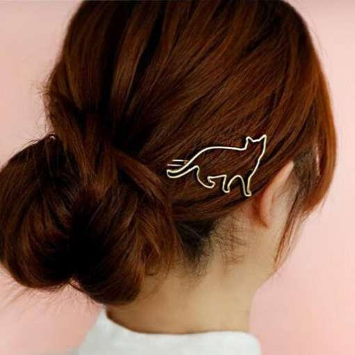 Cat Shaped Hair Clip at The Great Cat Store