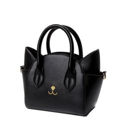 Cat Design Women's Leather Top Handle Handbag Purse at The Great Cat Store