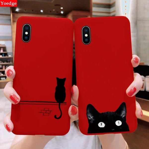 Black Cat iPhone Cover Cases