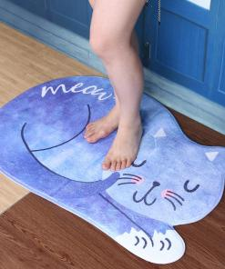 cat kitchen mat at The Great Cat store