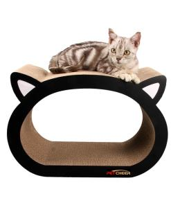 Ultimate Cat Head Shaped Cardboard Scratcher