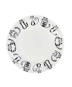 Ceramic Black Cat Plates