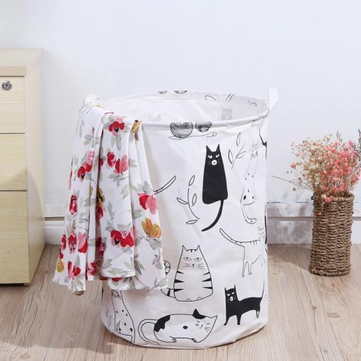 Folding Laundry Storage Basket