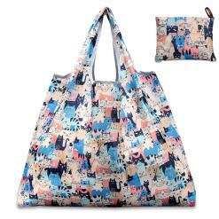 Cat Design Cloth Shopping-Book Bag