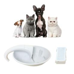 Automatic Swan Shaped Cat Fountain