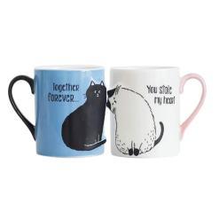 Together Forever Cat Mug