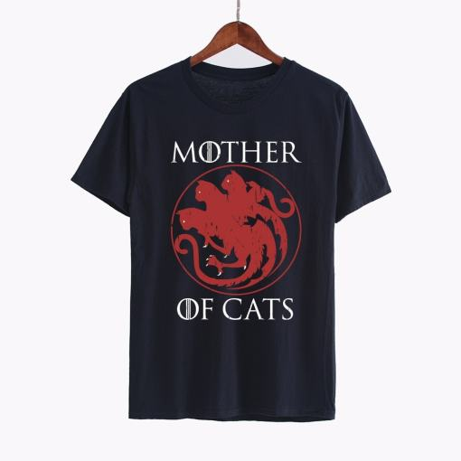 Mother of Cats Plus Size T-Shirt at The Great Cat Store