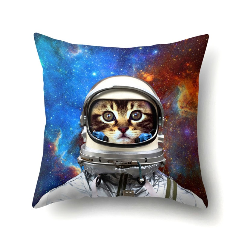 Various Cat Themed Cushion Covers
