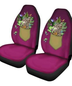 Various Cute Cat Themed Car Seat Covers