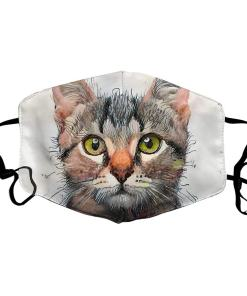 Various Reusable Cat Face Masks