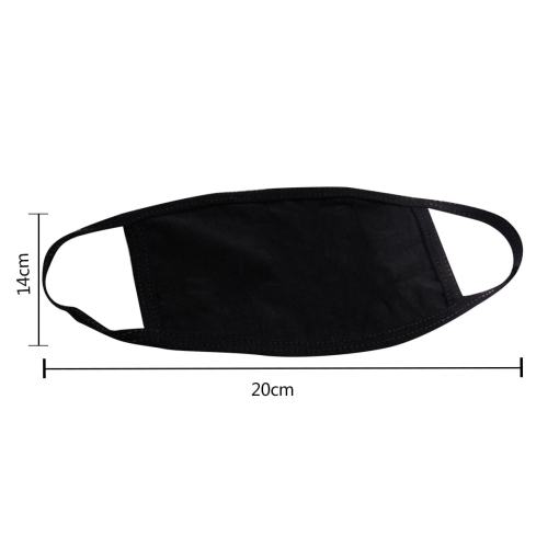 Black Cute Cat Themed Face Mask