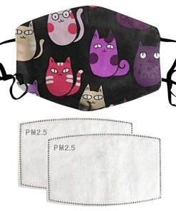Cotton Cat Themed Face Mask