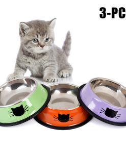 Cat Food Water Anti-Skid Dish