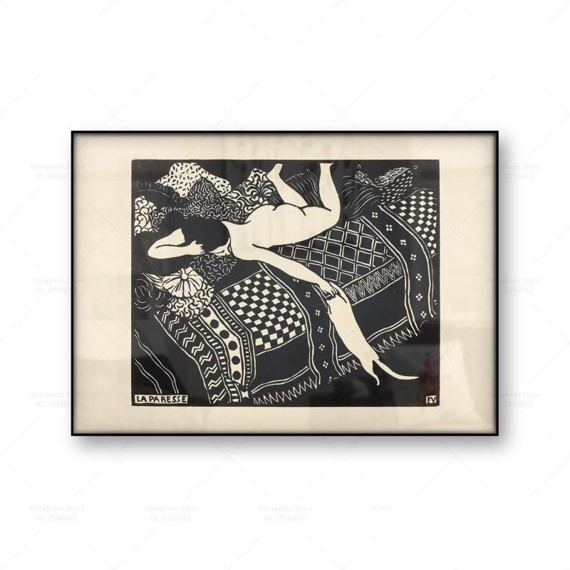 Felix Vallotton La Paresse Laziness Poster
