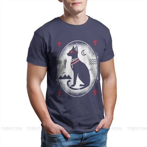 Cat Goddess Bastet Cotton Unisex T-Shirt