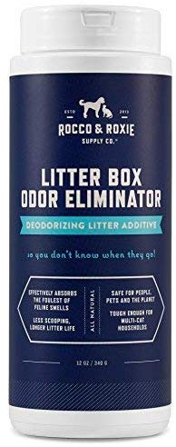 Rocco and Rocksie Litter Box Odor Eliminator