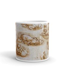 Da Vinci Cat Art Mug