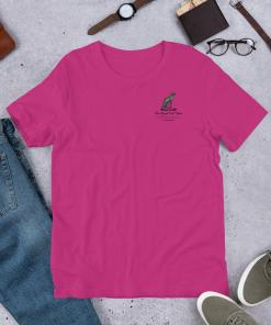 Great Cat Store Pocket Logo Short-Sleeve Unisex T-Shirt