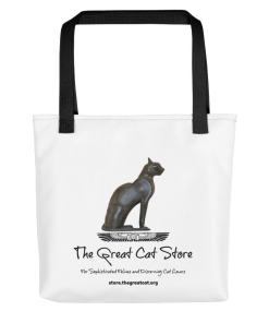 Great Cat Store Tote Bag