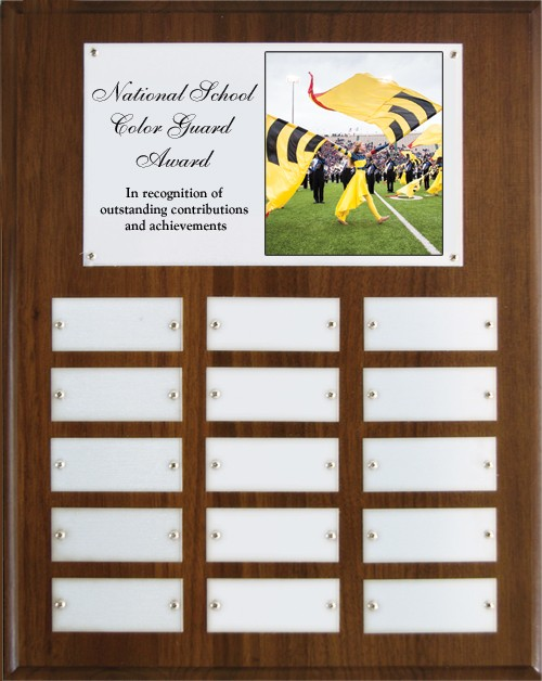 National school color guard award wall plaque the Coloring book national bookstore