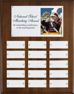 National School Marching Wall Plaque