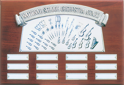 National School Orchestra Wall Plaque