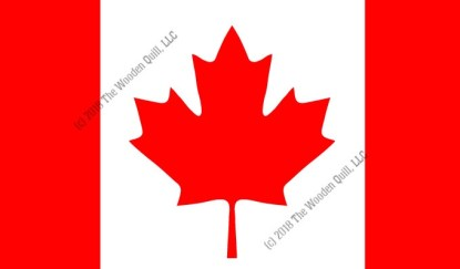 Watermark Canadian Flag - Scaled for Sierra