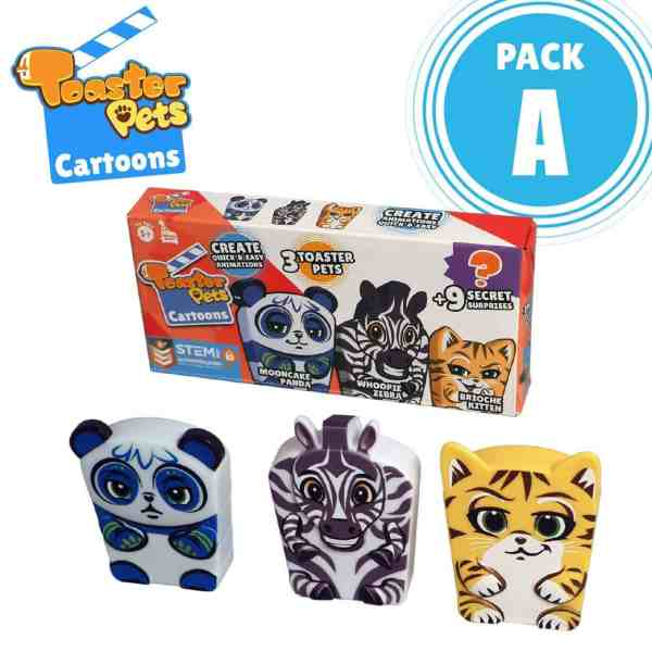Toaster Pets Cartoons Education Mega Bundle