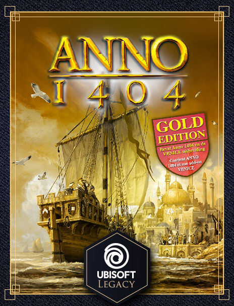 Anno 1404: Copertina