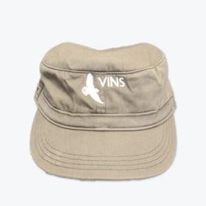 Khaki Military Hat