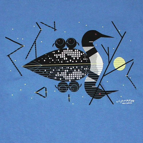 Charley Harper Claire de Loon