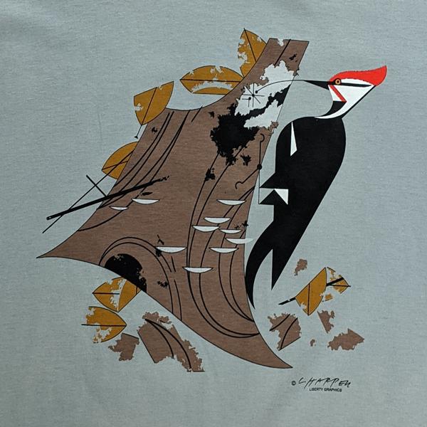 Charley Harper Pileated Woodpecker