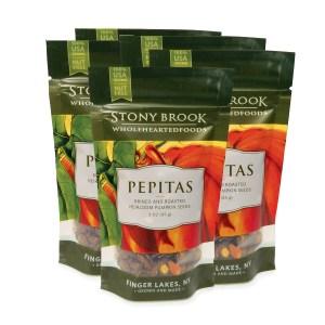 Pepitas (pumpkin seeds), case