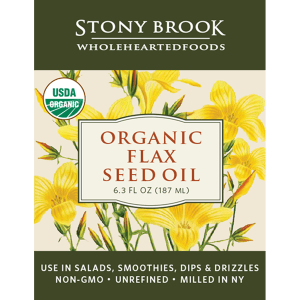 Stony Brook Flax Seed Oil 6.3 ounce bottle