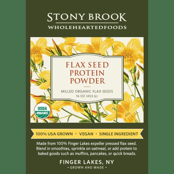 Stony Brook Flax Protein Powder