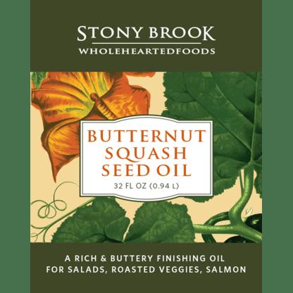 Stony Brook Butternut Squash Oil, Quart