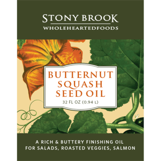 Stony Brook Butternut Squash Oil, Quart