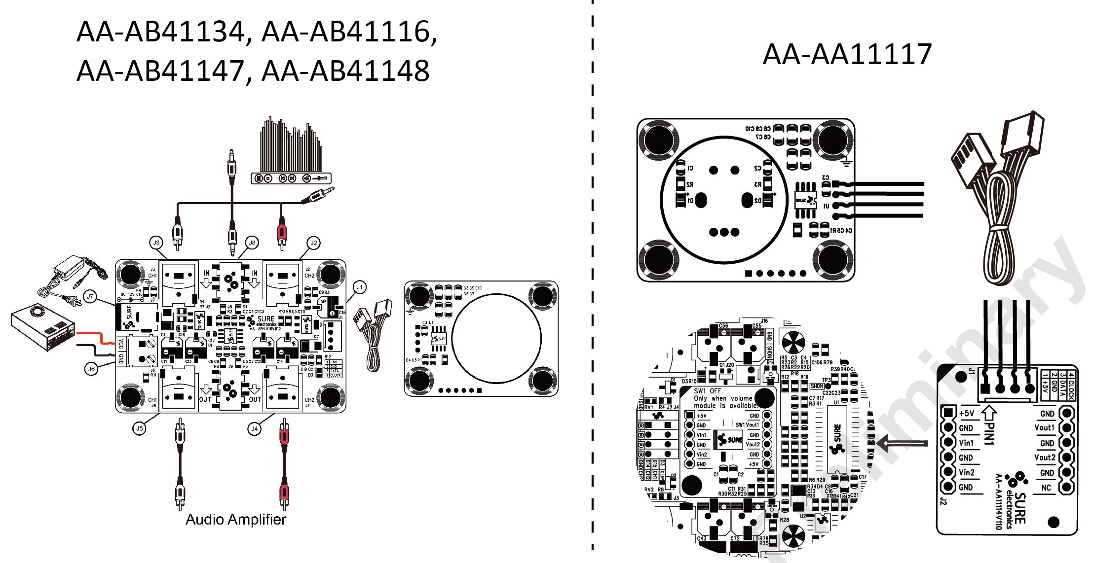 Digitally Controlled Stereo Electronic Audio Volume