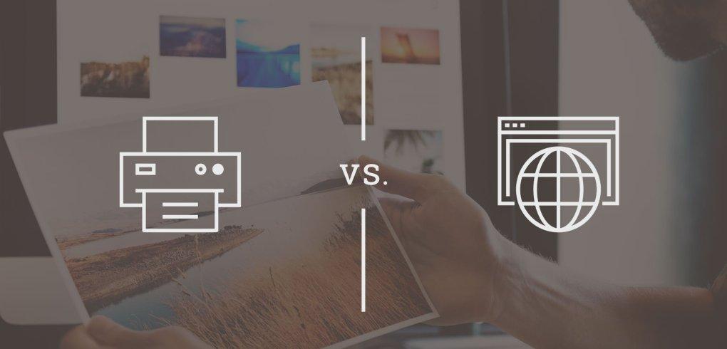 Print vs Web