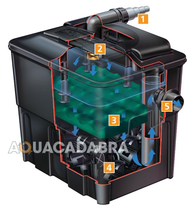 Koi Fish Pond Filter System