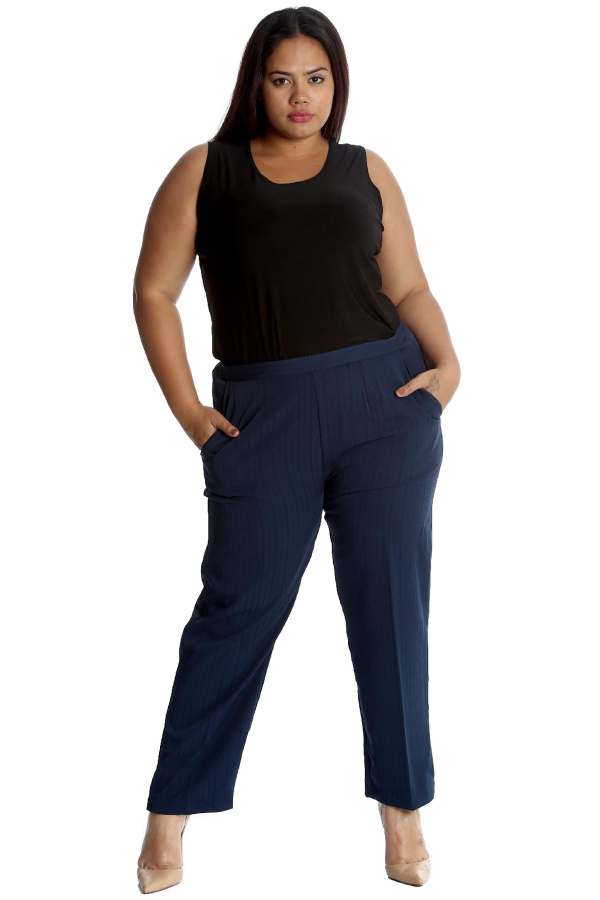 Plus Size Trouser Pintress