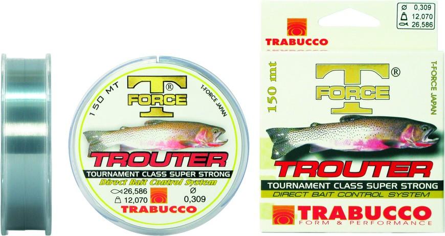 TRABUCCO T-FORCE TROUTER 150mt fishing monofilament